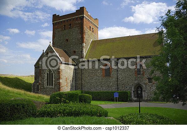 La vieja iglesia - csp1012337