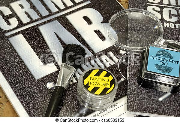 Laboratorio criminalístico - csp0503153