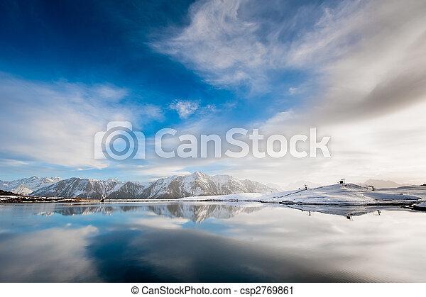 Lago a bettmeralp - csp2769861