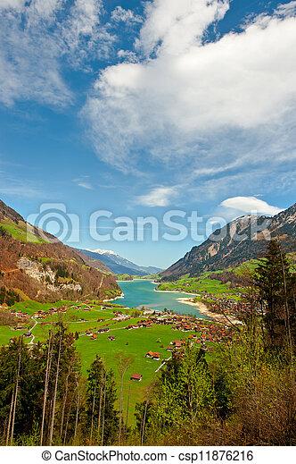 Lago en Suiza - csp11876216