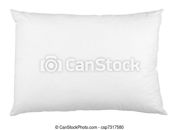 Cama de cama de almohada durmiendo - csp7317580
