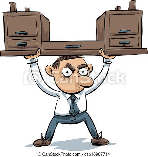 Levantador de escritorios - csp18907714