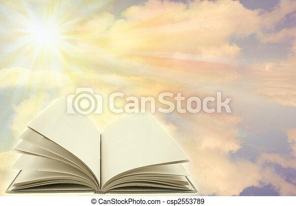 Libro abierto - csp2553789