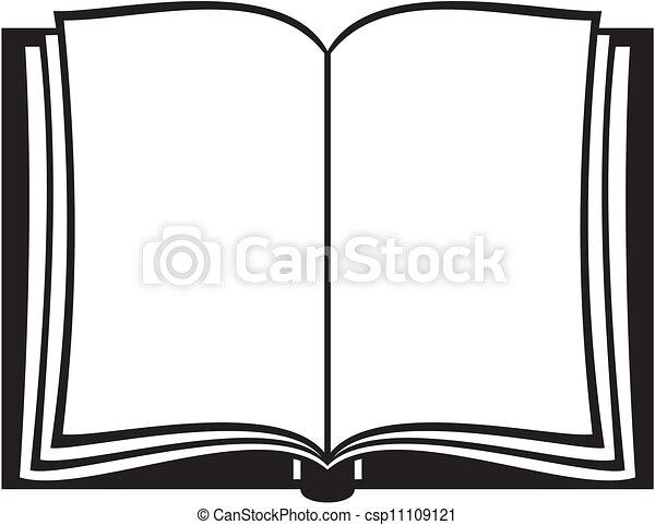 Libro abierto - csp11109121