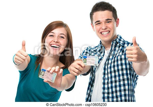Licencia de conducir - csp10605230