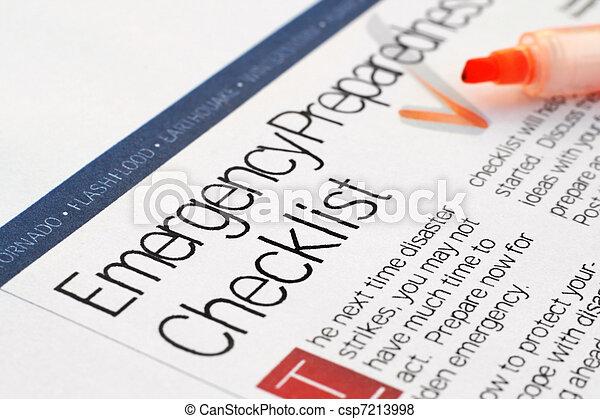 Lista de emergencia - csp7213998