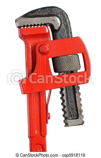 Una llave inglesa - csp0918119