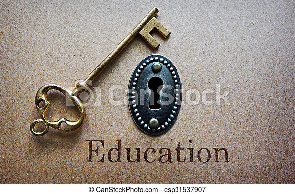La educación es la clave - csp31537907