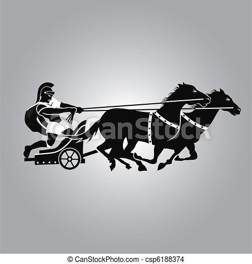 Logo de carroza - csp6188374