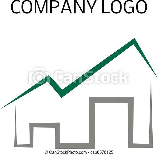 Logo de casa - csp8578125