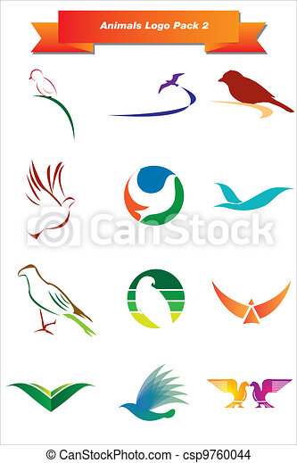 Animales logotipo 2 - csp9760044