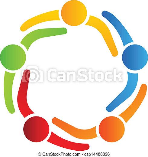 Diseño de logotipo de negocios, socios 5 - csp14488336