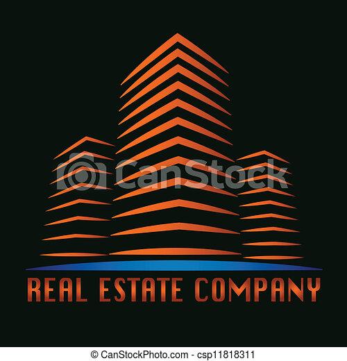 Logotipo inmobiliario - csp11818311