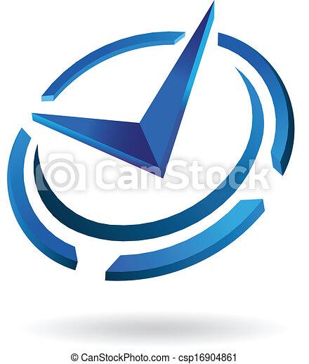 Logotipo de reloj Syled - csp16904861