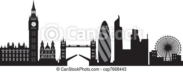 London Skyline - csp7668443