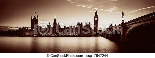 Londres al atardecer - csp17647244