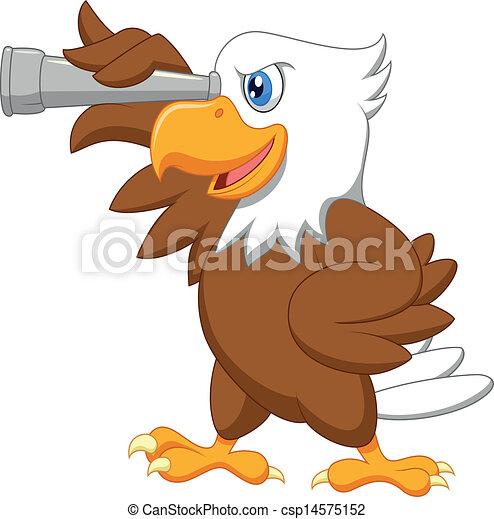 Los dibujos de águila - csp14575152