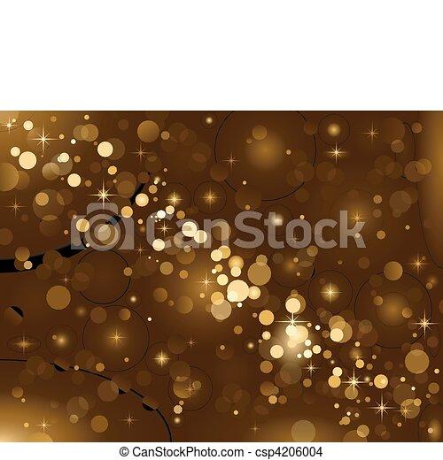 Luces mágicas, brillo de fondo, B - csp4206004
