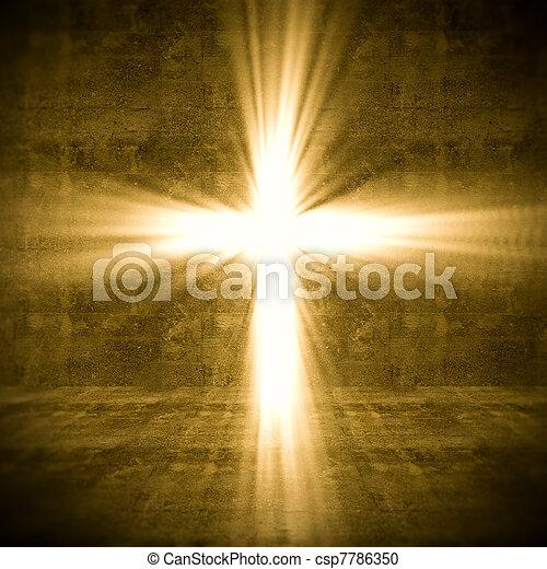 Luz cruzada - csp7786350
