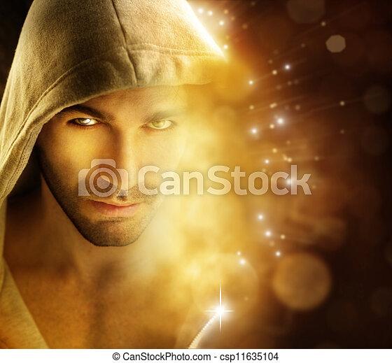 Hombre de luz - csp11635104