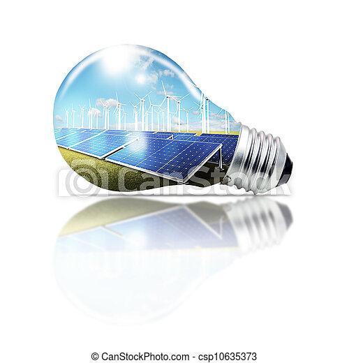 Luz verde, concepto - csp10635373