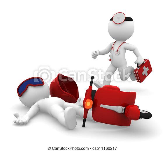 Servicios médicos de emergencia. Aíslalo - csp11160217