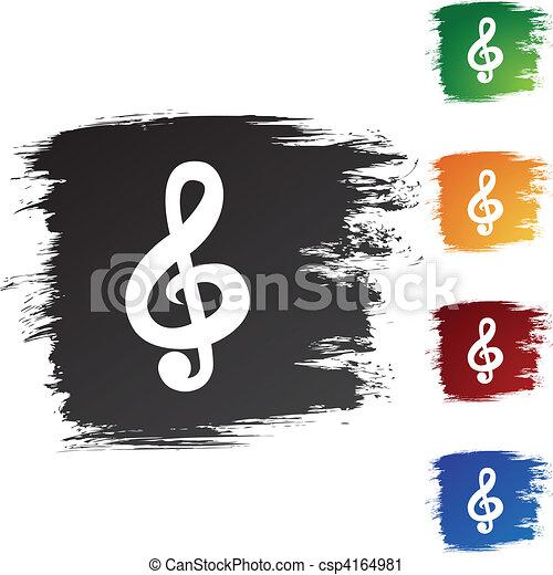 Música - csp4164981