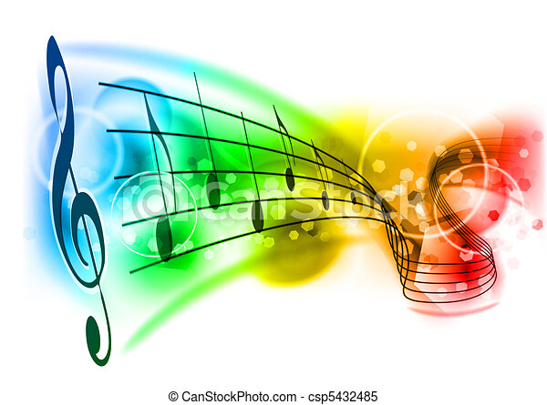 Música - csp5432485