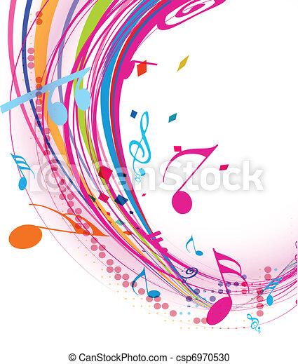 Música de fondo - csp6970530