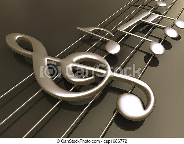 Pon música 3D - csp1686772