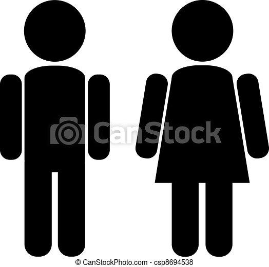 Mujer masculina - csp8694538