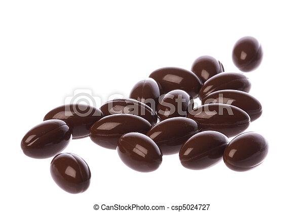 Cápsulas de Coenzyme Q10 macro aisladas - csp5024727