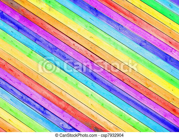 Madera de color - csp7932904