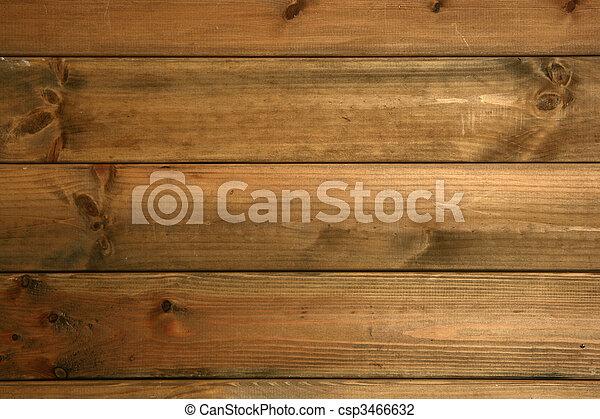 Madera de textura marrón de madera - csp3466632