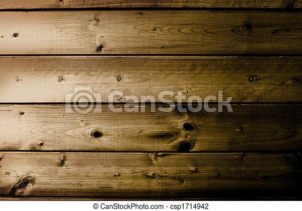 Mancha textura de madera marrón con patrones naturales - csp1714942