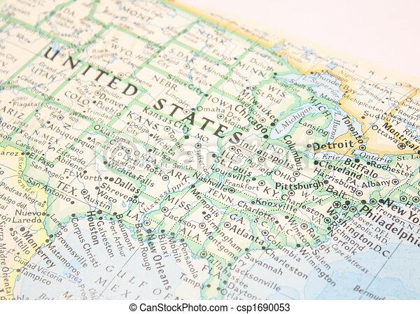 Mapa de nosotros - csp1690053