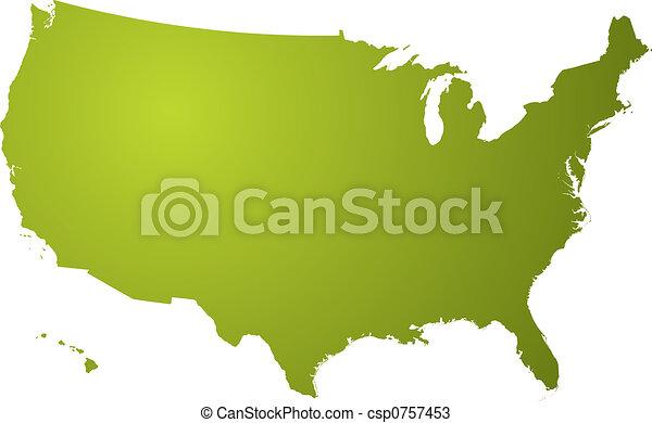 El mapa es verde - csp0757453