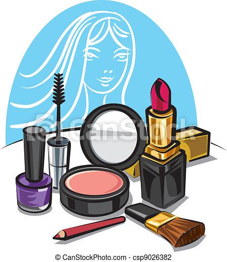 Maquillaje cosmético - csp9026382
