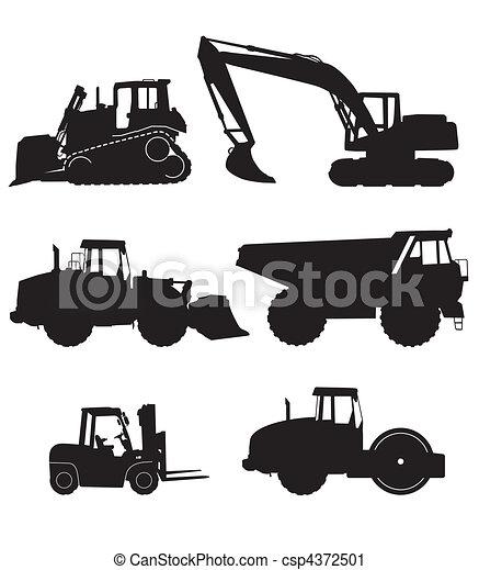 Maquinaria de construcción - csp4372501