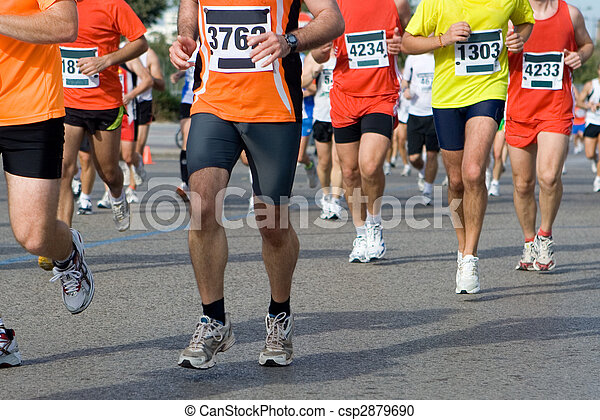 Maratón - csp2879690