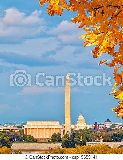 Marcas en Washington DC - csp15653141