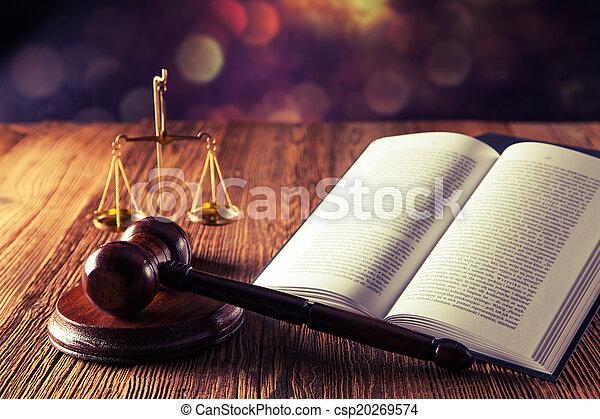 Código de ley y martillo - csp20269574