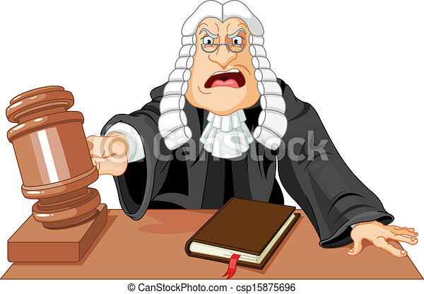 Juez con martillo - csp15875696