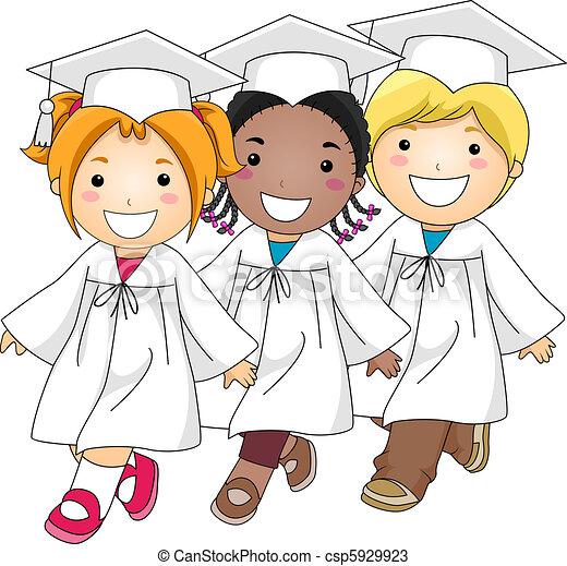 Marcha de graduación - csp5929923