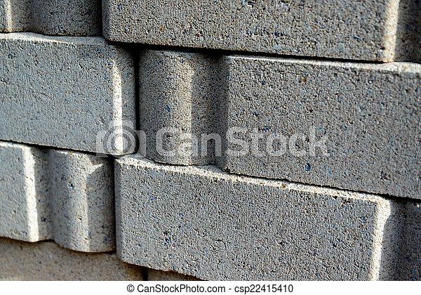 Materiales de construcción, ladrillos - csp22415410