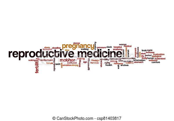 medicina, concepto, reproductor - csp81403817
