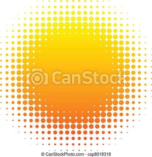 Medio sol. - csp8018318