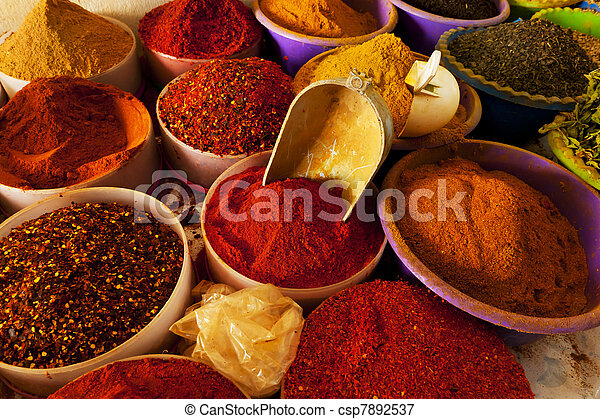 Mercado de especias - csp7892537