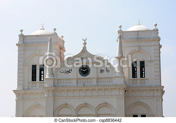 mezquita histórica - csp8836442