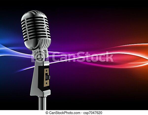 Micrófono - csp7047620